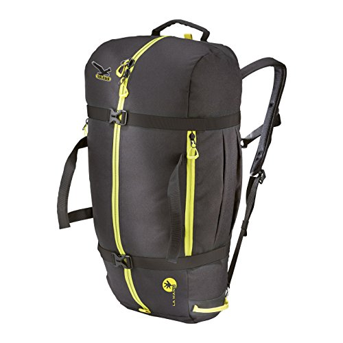 SALEWA ROPEBAG XL Seilrucksack, BLACK/CITRO, UNI