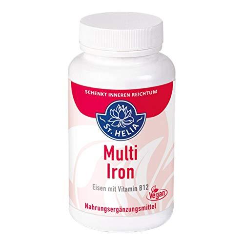 Multi Iron - Eisen mit Vitamin B12, 90 Kapseln
