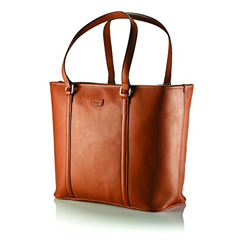 Hartmann Heritage Zippered Tote (Golden Oak)
