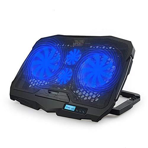 Raffreddatore portatile + potente + raffreddamento ultra rapido + 4 ventilatori silenziosi + raffreddamento PC portatile PS4 XBOX