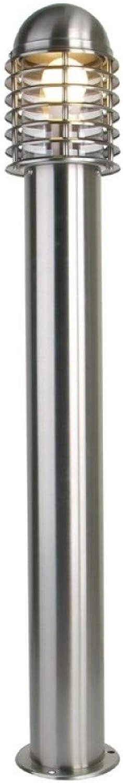LED-Lampe, Edelstahl, 1 m, Gartenbeleuchtung, 220 V, 27 10 W, IP44 – Warmwei