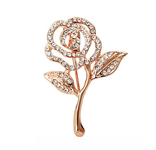 Broche perle/Corsage Pin/Badge Collier Pin Femme ou Homme, Rose