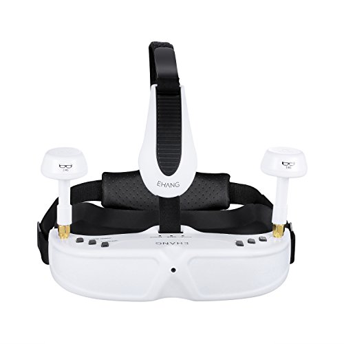 Ehang GHOSTDRONE 2.0 VR Goggles, iOS Compatible, White