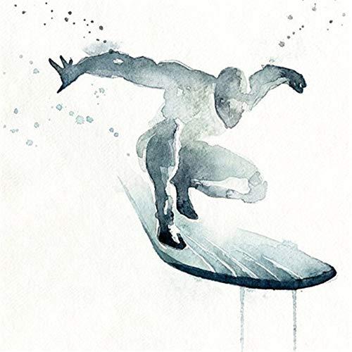 SDFSD Cartoon Aquarell Graffiti Hollywood Filmfigur Superheld Iron Green Man Heroes Leinwand Malerei Kunst Bild Poster Schlafzimmer Wohnkultur 60X60CM
