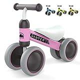 Sawyer - Correpasillos / Bicicleta Sin Pedales - Niños 10 a 24 Meses / Bebes 1 Año (Rosa)