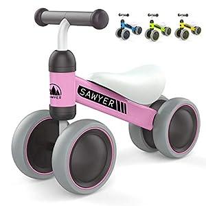 Sawyer - Correpasillos / Bicicleta Sin Pedales - Niños 10 a 24 Meses (Rosa)