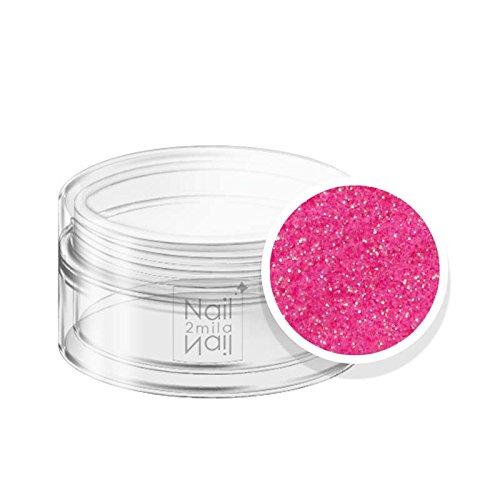 Nail Art poeder glitter roze aardbeien