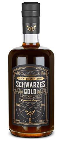 Schwarzes Gold - Coldbrew Espresso Likör I Kaffeelikör (0.7 l)
