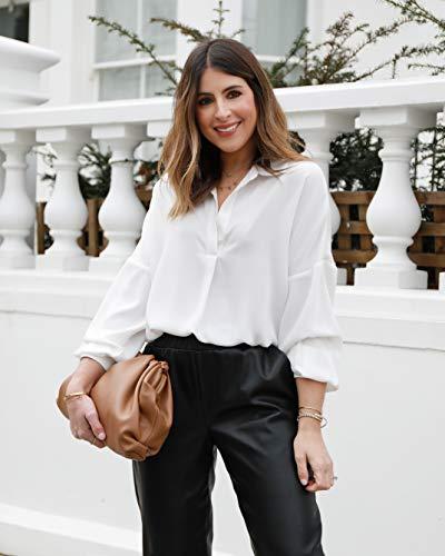 The Drop Camisa para Mujer, Oversize, sin Botones, Blanco, por @wearetwinset