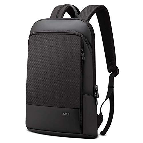 Business Laptop Backpack,Robo de mochila para computadora portátil con carga USB Anti Daypack para hombres Mochila para computadora Oxford Mochila resistente al agua Unisex-black-Onesize