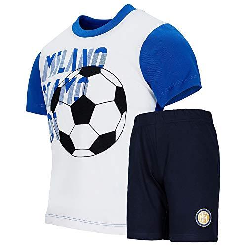 Inter F.C Completo Estivo Neonato 12/36 Mesi (18 Mesi)