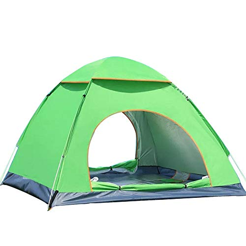 MOMIN Compact Yurts Are Also Garden CampingCompact Yurts Lightweight Large Tent Oxford Cloth Waterproof Camping Tent 3-4 Person Instant Up Camping Tent Light Camping and Hiking Tents