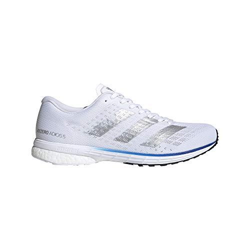 adidas Herren Adizero Adios 5 m Sneaker, Ftwbla/Plamet/Azurea, 43 1/3 EU thumbnail