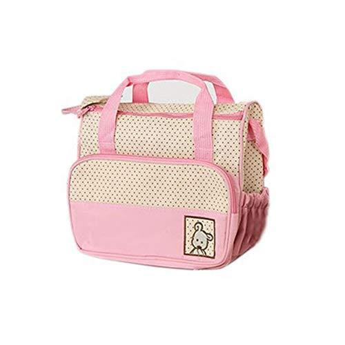 Zwangerschap luiertas voor baby mama baby luierzakken baby mama kinderwagen moederschap spullen opslag roze