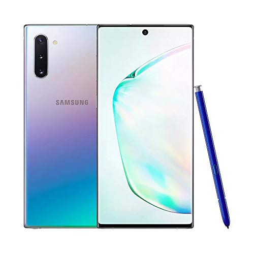 Samsung Galaxy Note10 Dual-SIM 256 GB 6.3-Inch Android Smartphone - Aura Glow (UK Version)