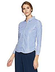 Krave Womens Striped Regular Fit Shirt