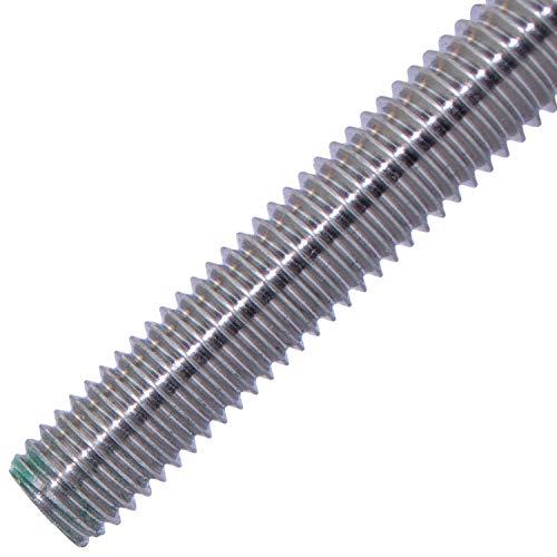 MESAROS® - Barre filettate M8-1 m, in acciaio inox A2 (10 pezzi) | DIN 975/DIN 976 – Barre filettate di M8