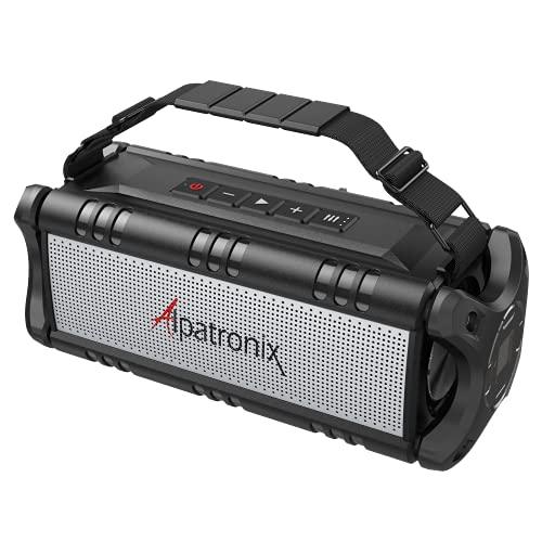 Waterproof Bluetooth Speaker 60W (80W Max), Portable, Wireless,...