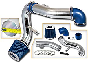 Rtunes Racing Cold Air Intake Kit + Filter Combo BLUE Compatible For 05-10 Chevy Cobalt 2.2L and 2.4L