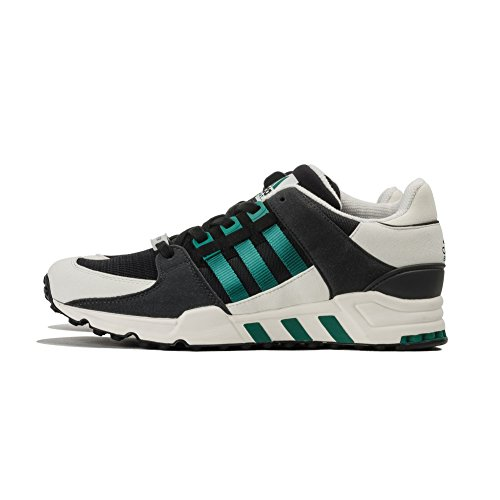 adidas Equipment Running Support, Core Black/Sub Green/White Vapour, 4