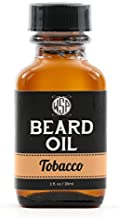 WSP Beard Oil & Leave in Conditioner (Tobacco) - Best Beard Oil Scents - 100% Pure, Natural, Organic, Vegan