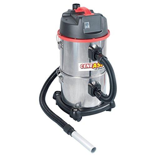 Ribimex aspiratore 4 in 1: solidi - liquidi - cenere - funzione soffiante