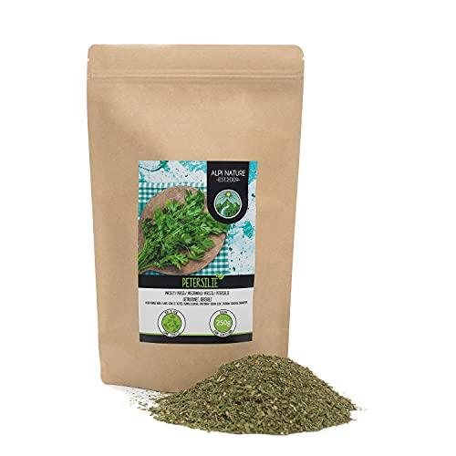 Perejil frotado (250g), perejil suavemente secado, perejil 100% puro y natural para la preparación de mezclas de especias