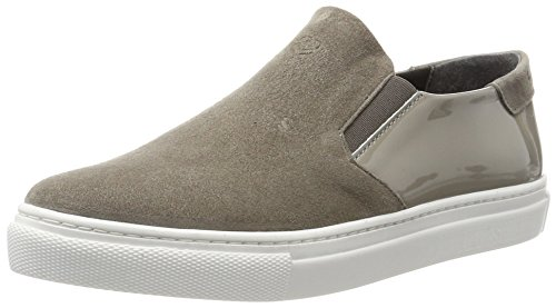 Liebeskind Berlin Damen LH173050 Suede Sneaker, Grau (Street Grey), 39 EU