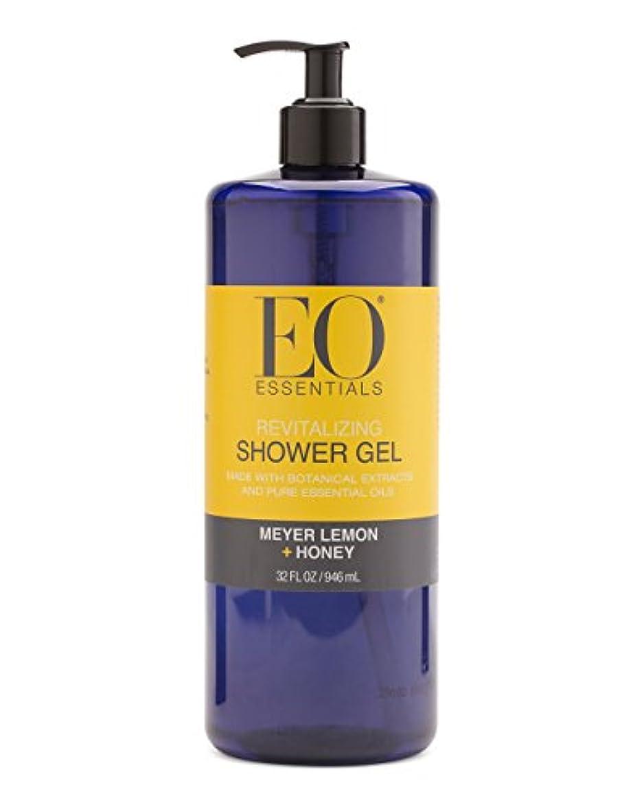 国民投票昆虫偽物Meyer Lemon + Honey Shower Gel (32 Oz) by EO Essentials [並行輸入品]