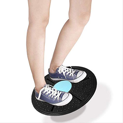WQ Balance Board Fitness Twisting Training Twist Board 360 Grad drehbar Tragkraft 150 kg Größe Drehscheibe Farbe zufällig warm