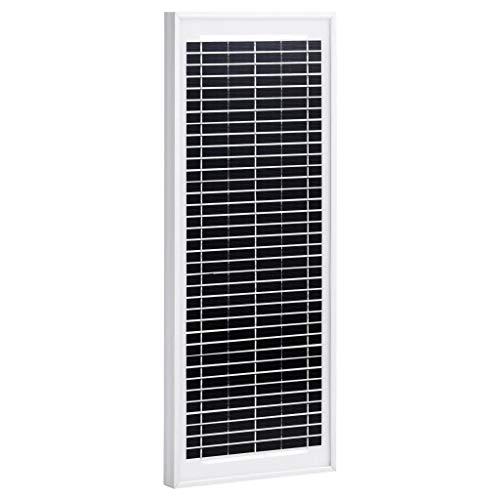 N/O Viel Spaß beim Einkaufen mit Solarmodul 10 W Polykristallin Aluminium und Sicherheitsglas