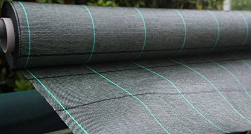 Bâches bâche de paillage Noir Vichy Tissu polypropylène antistrappo- MT 10 x 3.30h