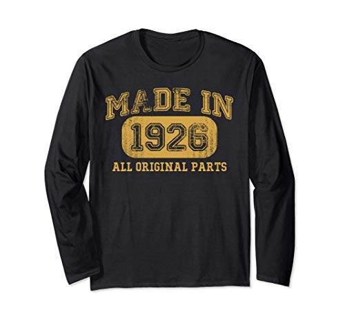 Made in 1926 All Original Parts Shirt