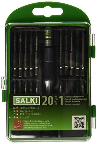 Salki 8652070.0 8652070-Juego Destornilladores precisión 21 pcs, Metal, l