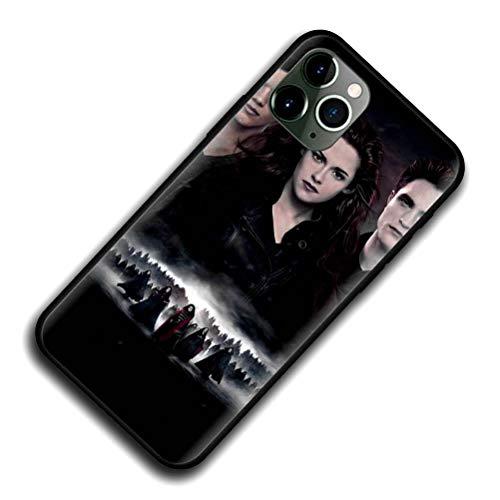 GJGSWY Twilight Saga Case for iPhone Black Silicone Soft Cover B03 for iPhone 7/iPhone 8/iPhone SE 2020