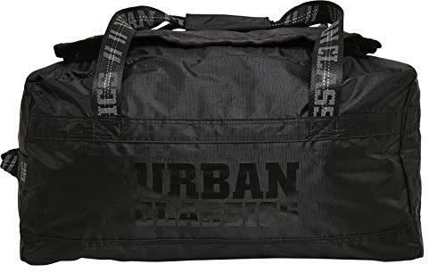 Urban Classics Unisex Soft Traveller Bag, black, one size