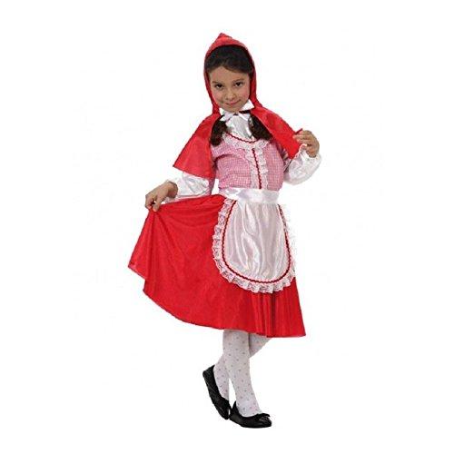 Atosa-19641 roja Disfraz Caperucita, Color rojo, 3 a 4 años (19641)