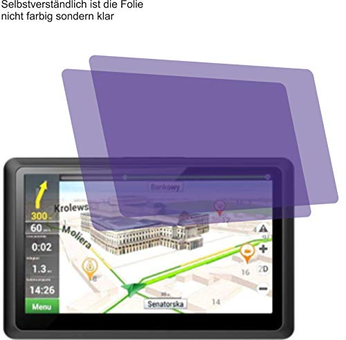 4ProTec I 2X ANTIREFLEX matt Schutzfolie für Kainuoa 5 Zoll Navi Displayschutzfolie Bildschirmschutzfolie Schutzhülle Displayschutz Displayfolie Folie