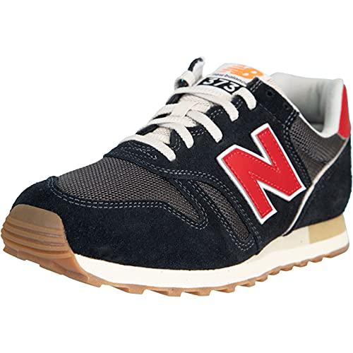 New Balance NB 373 Sneaker Schuhe (Black, Numeric_43)