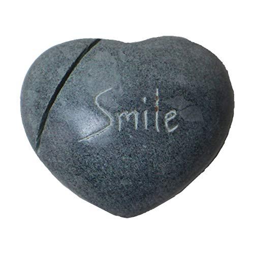 【ピープルツリー】おまもりパレワストーン Smile/天然石/カードホルダー/インテリア小物/フェアトレード