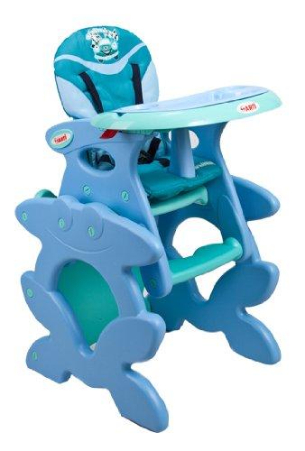 Chaise haute de bébé pour enfants ARTI Betty J-D008 Light Blue Winner Chaise haute Set - chaise et une table
