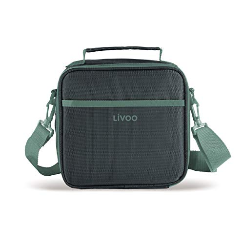 LIVOO Feel good moments - Sac à Repas Isotherme, Lunch Box SEP126 Vert
