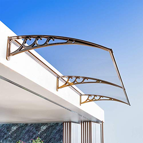 LNDDP Outdoor Door Canopy Porch Shelter, Furniture Protect Roof Front Porch Shelter