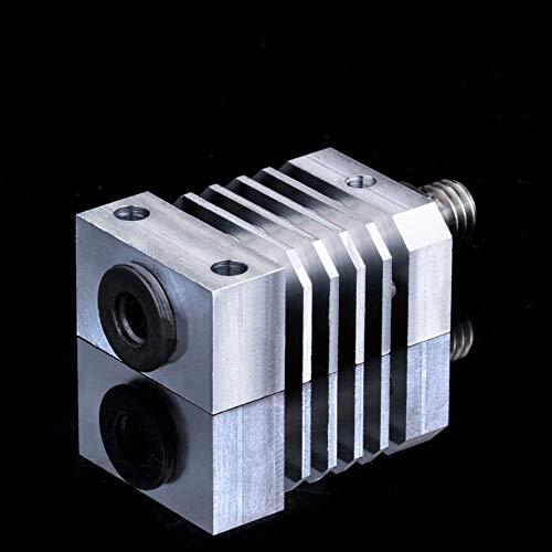 BZ 3D CR-10 All Metal Hotend Upgrade Kit 1.75/0.4 mm MK8 Nozzle for 3D Printer CR-10 CR-10S CR-10 S4, S5 Ender 3/Pro Ender 5 Hotend Extruder (Heatsink + HeatBreak)
