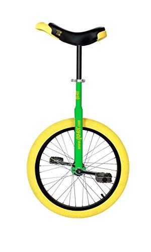 Qu-ax Einrad LUXUS 20 Zoll Radgröße in allen Farben, Farbe:grün