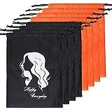 COOKOO 8 Pcs Hair Storage Bag With Drawstring...