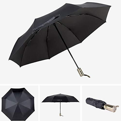 Big seller Regenschirme 10 Knochen automatische dreifache männliche und weibliche Winddichte Verstärkung großer Student Sonnenschutz Sonnenschirm