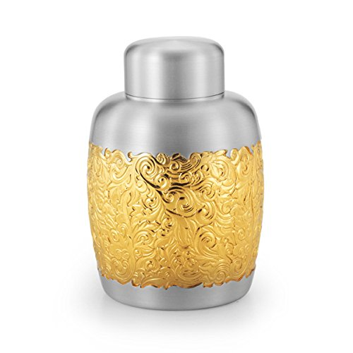 Review Of Royal Selangor Hand Finished Isthmus Collection Pewter Airtight Tea/Coffee Caddy (L) with ...