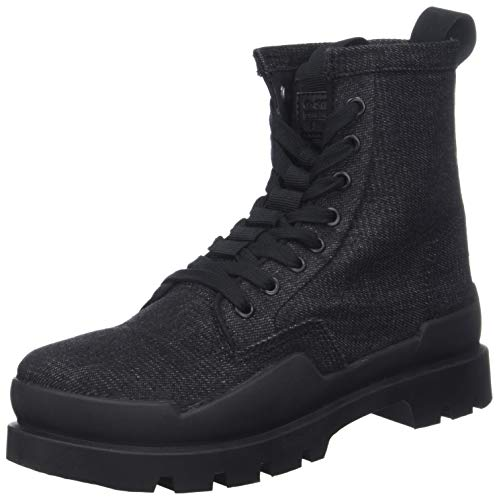 G-STAR RAW Rackam Rovulc Boot Denim, Bottes & Bottines Classiques Homme, Noir (Black 990), 46 EU