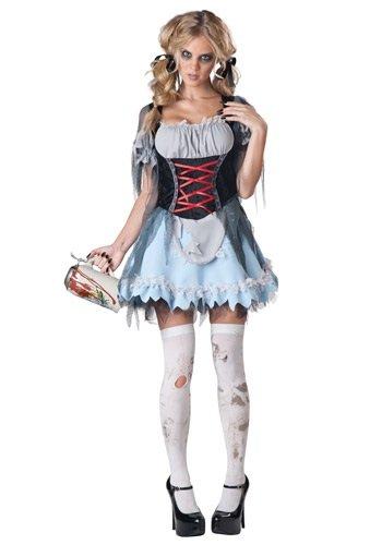 InCharacter Costumes Women's Zombie Beer Maiden Costume, Grey/Black, X-Large